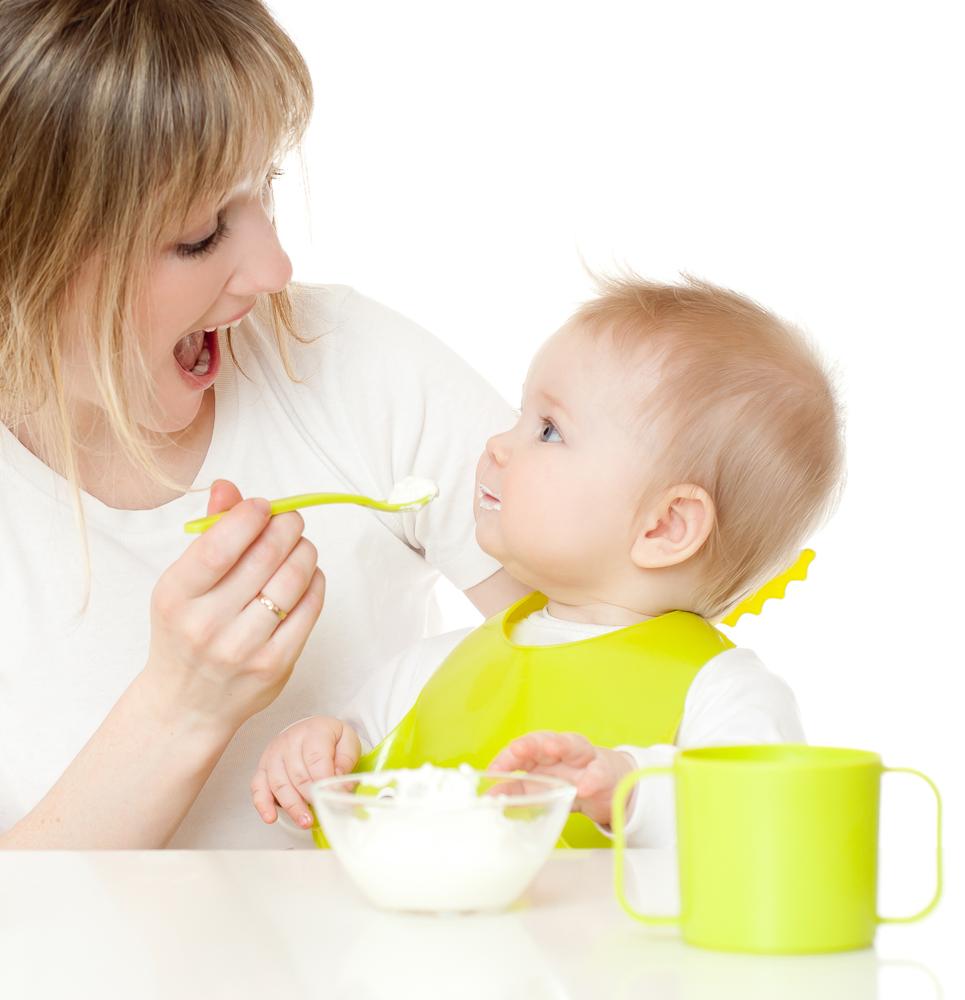 Alimentación a partir de los seis meses de edad